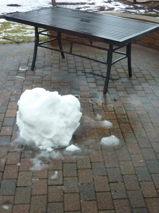 Melting Snowball